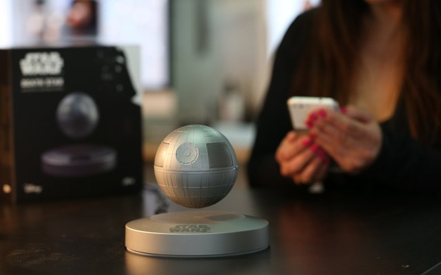 Plox Star Wars Levitating Death Star Speaker