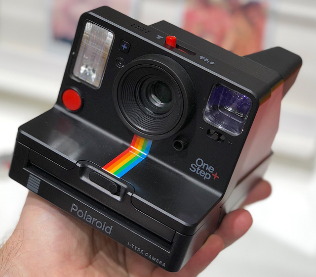 App-controlled instant-film camera