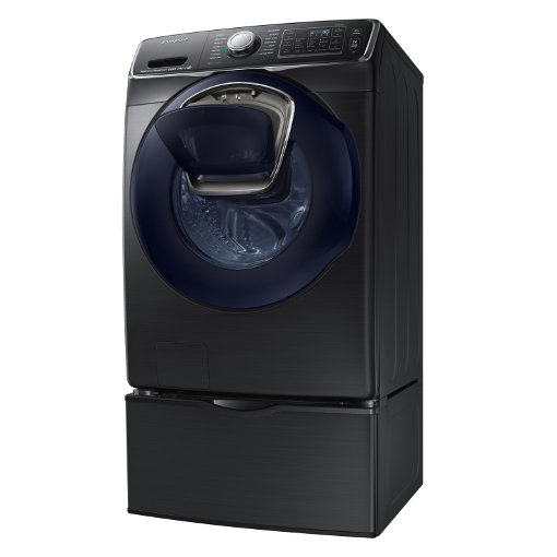 samsung front loading addwash washer lets you add in