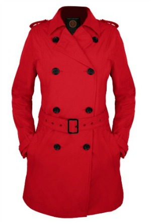 Scottevest Trenchcoat Red