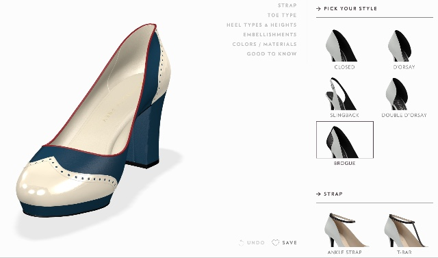 For the hottest looks: A completely custom pair of shoes