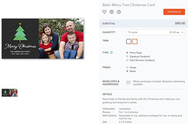 Shutterfly Is Our Favorite Holiday Card Mailing Service You May Know For Its Custom Photo Gifts But The Company Also Prints Cards