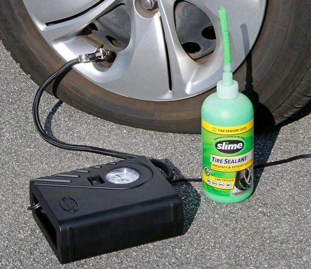 Slim Emergency Flat Tire Repair Kit