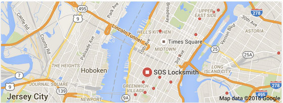 Google Maps Locksmith Search