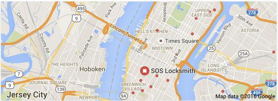 Google Maps Locksmith Search