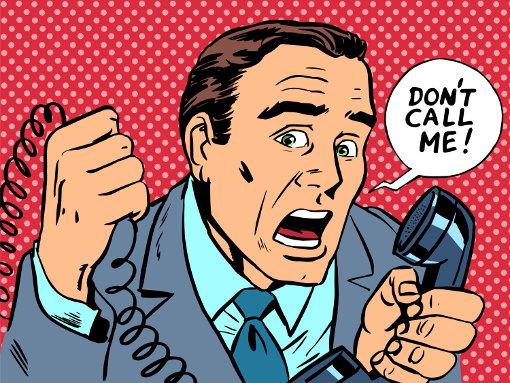 Annoying spam calls