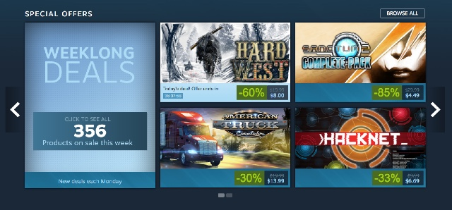 For gamers: Games on Steam, PlayStation or Xbox