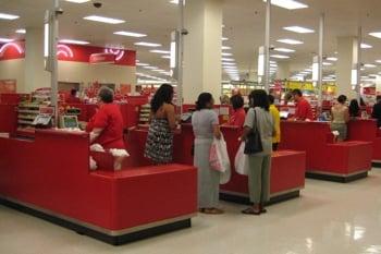 Target cash registers