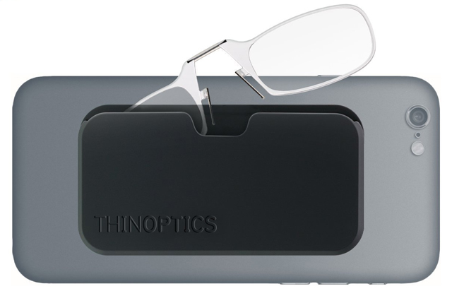 ThinOptics stick anywhere, go everywhere reading glasses