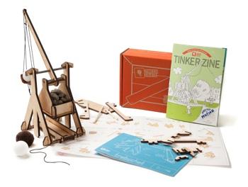 Tinker Crate trebuchet kit