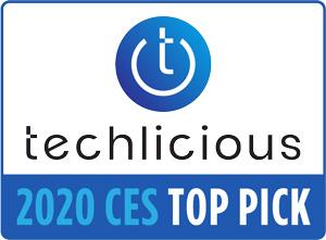 Techlicious Top Picks of CES Award 2020