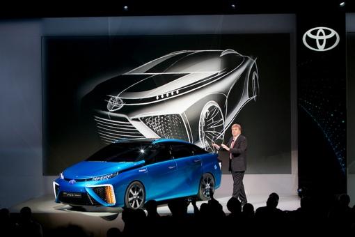 Toyota's Hydrogen Fuel Cell Sedan