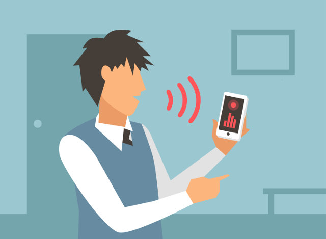 Voice-activated commands