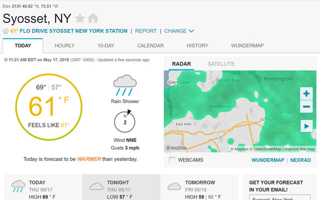 4 Best Weather Sites Techlicious