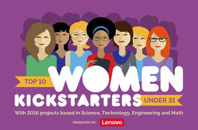 Women Kickstarters under 31