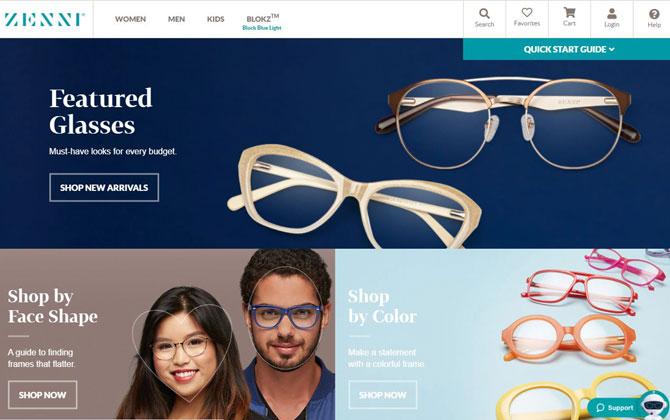 Best affordable glasses: Zenni Optical