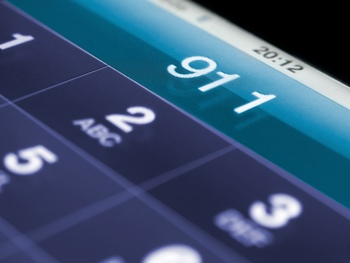 911 on a cell phone