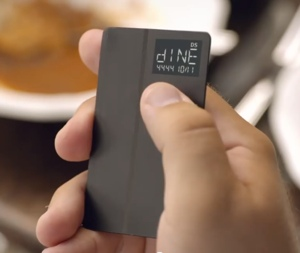 Coin programmable credit card