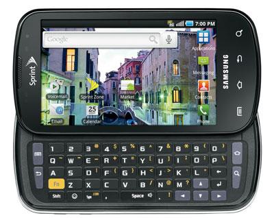 Samsung Epic 4G open
