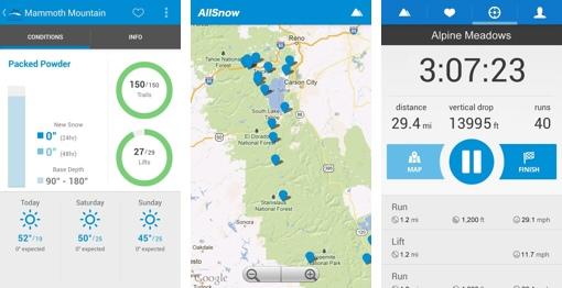 AllSnow Ski Report App