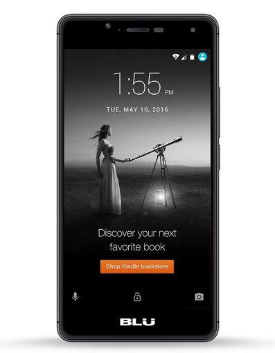 Get a deal on this Blu phone, but you'll have to view ads