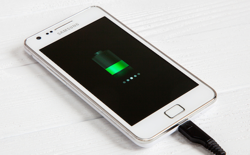 Android Phone With Battery Icon Shutterstock 510px