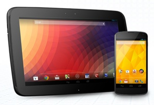 Android tablet and phone