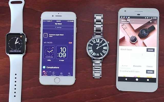 Apple Watch vs. Android Wear