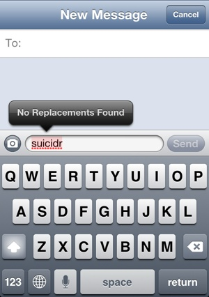 "Apple refuses to correct ""suicide"""