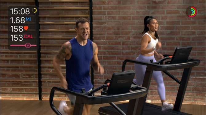 Apple Fitness+ class