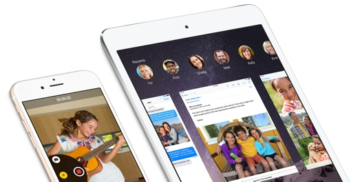 Apple iOS 8 on iPhone and iPad