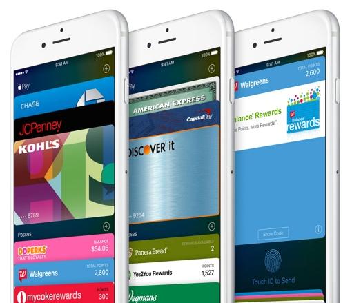 Apple iOS 9 Wallet app