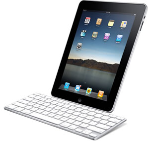 iPad with optional keyboard