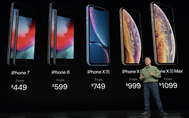 Apple iPhone introductions