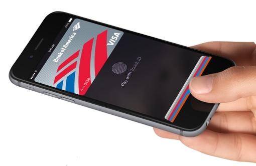 Apple Pay with Touch ID