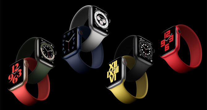 Apple Watch 6 colors