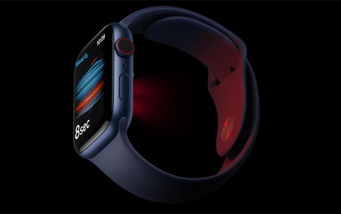 Apple Watch 6 oxygen sensor