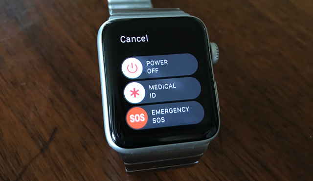 Emergency calling with your Apple Watch
