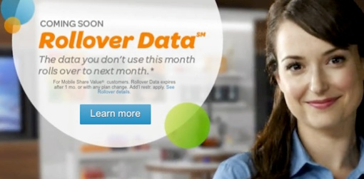 AT&T Rollover Data ad