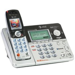 AT&T EP5632 5.8 GHz Digital BlueTooth Enabled Cordless Phone with Answering System