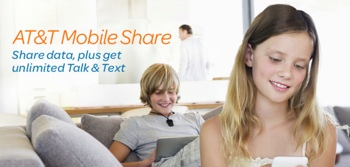 AT&T Mobile Share Family Plan ad