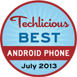 The Best Android Smartphone Award - July, 2013