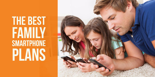 Which Carrier Has the Best Family Smartphone Plan?