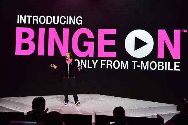 Binge On launching