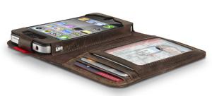 BookBook iPhone case open