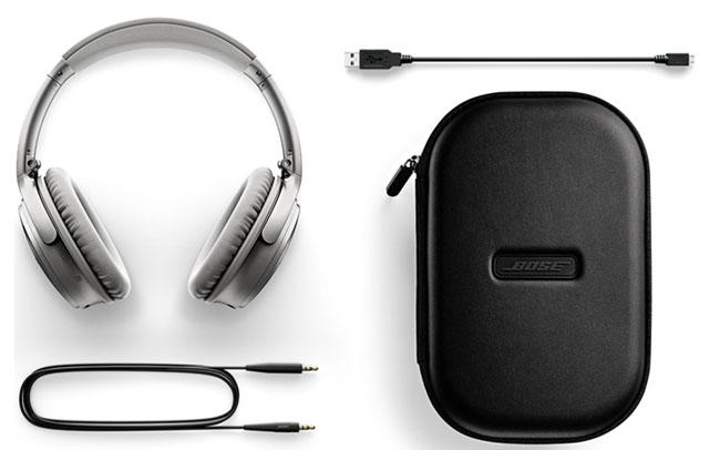 For your listening needs: Bose QuietComfort 35 (Series II) wireless headphones