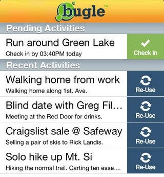 Bugle safety app