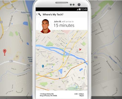 Comcast MyAccount app