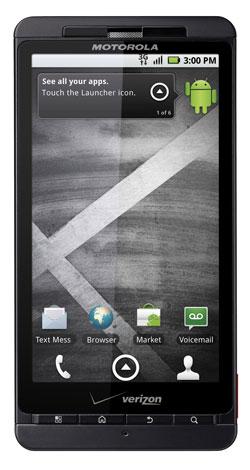 Motorola DROID X front