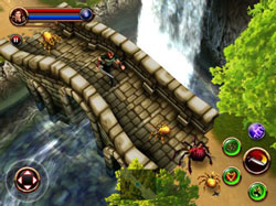 iPad Dungeon Hunter HD